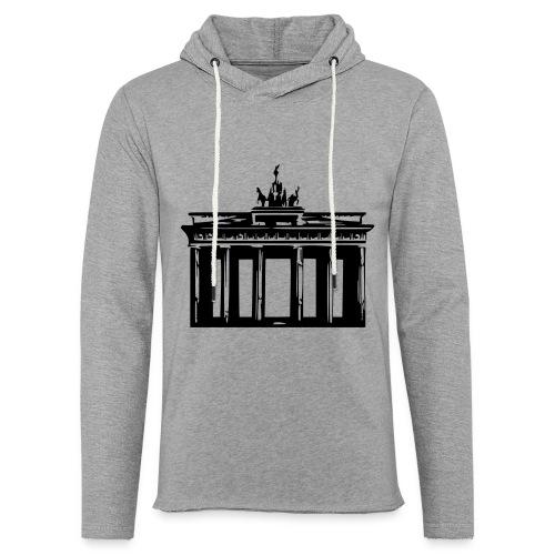 Brandenburger Tor - Leichtes Kapuzensweatshirt Unisex