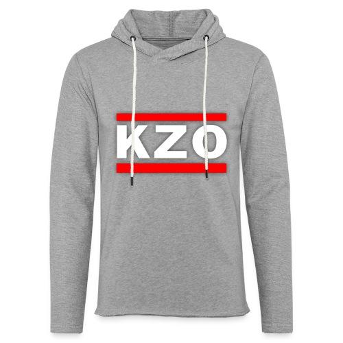 KZO - Leichtes Kapuzensweatshirt Unisex