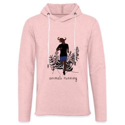 Buffle running - Sweat-shirt à capuche léger unisexe