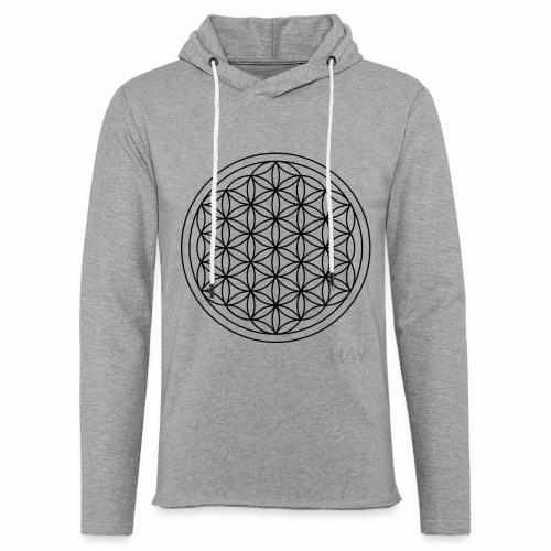 Flower Of Life - This Design Will Heal You - Let sweatshirt med hætte, unisex