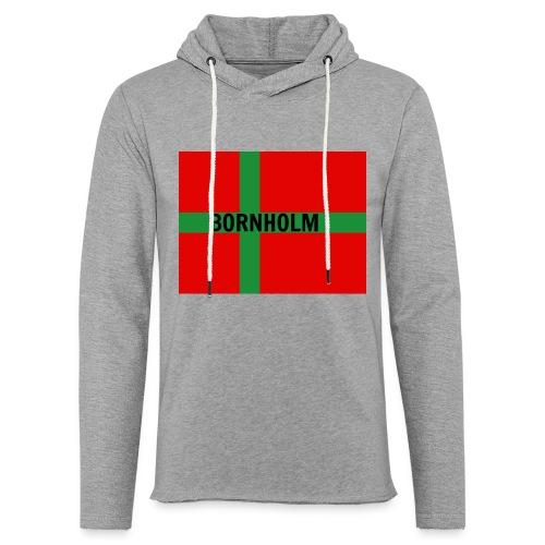 BORNHOLM - Let sweatshirt med hætte, unisex