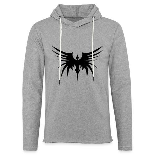 Phoenix Noir - Sweat-shirt à capuche léger unisexe