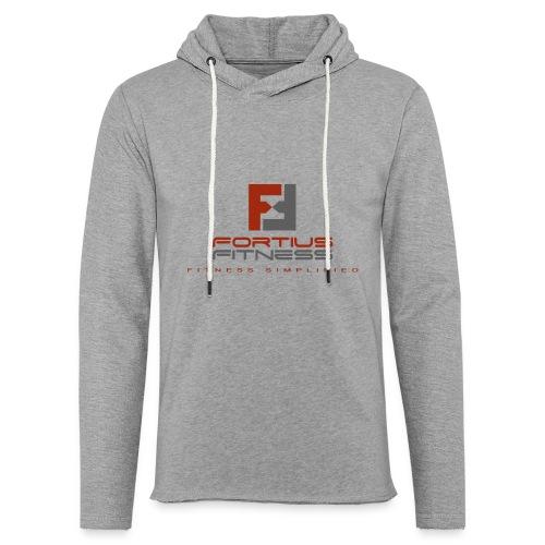 Fortius Fitness - Let sweatshirt med hætte, unisex