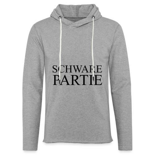 schwarePartie png - Leichtes Kapuzensweatshirt Unisex