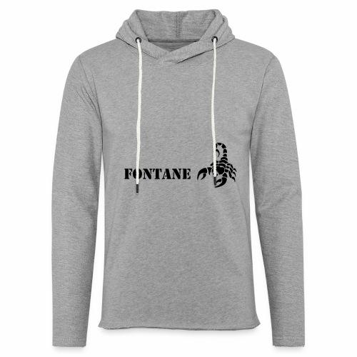 Fontane Scorpio - Light Unisex Sweatshirt Hoodie
