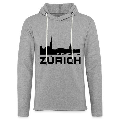 Zürich - Leichtes Kapuzensweatshirt Unisex
