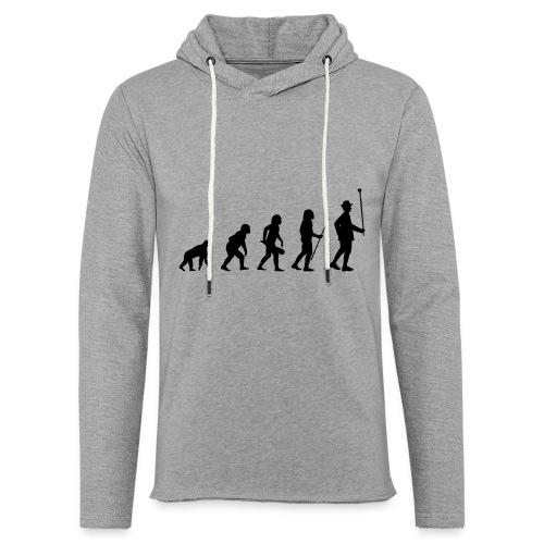 Stabführer Evolution - Leichtes Kapuzensweatshirt Unisex