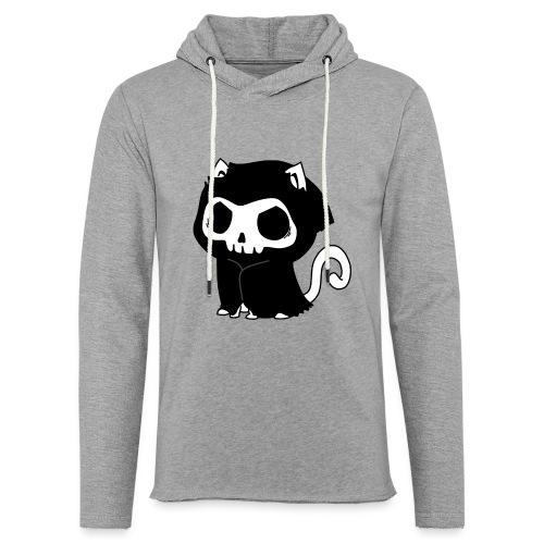 Reaper Katze Miau - Leichtes Kapuzensweatshirt Unisex