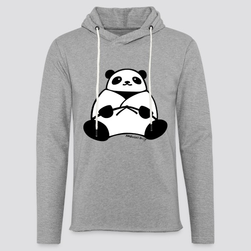 Panda - Lichte hoodie unisex