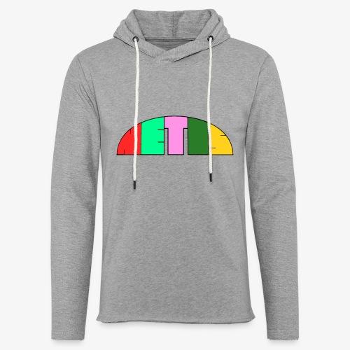 Metis rainbow logo - Light Unisex Sweatshirt Hoodie