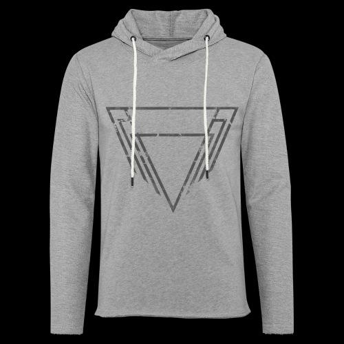 Motif Noir - Sweat-shirt à capuche léger unisexe