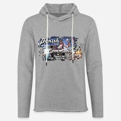 Dansih community - fivem2 - Let sweatshirt med hætte, unisex