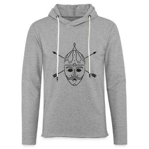 Cuman helmet with arrows - Light Unisex Sweatshirt Hoodie