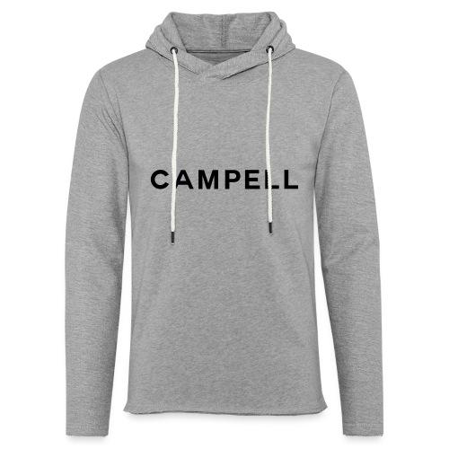 campell schriftzug2 - Leichtes Kapuzensweatshirt Unisex
