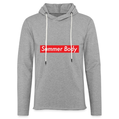Summer Body - Sweat-shirt à capuche léger unisexe