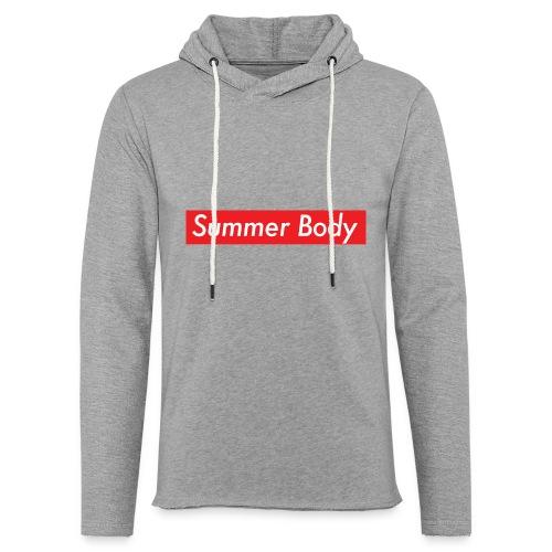 Summer Body - Sweat-shirt à capuche léger unisexe