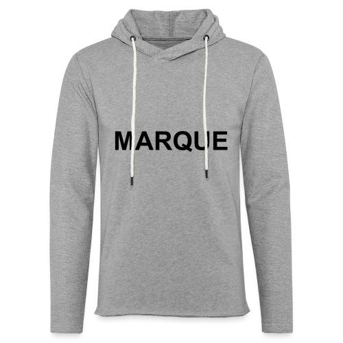 MARQUE - Sweat-shirt à capuche léger unisexe