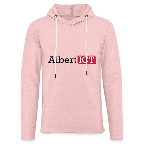 AlbertICT logo full-color - Lichte hoodie unisex