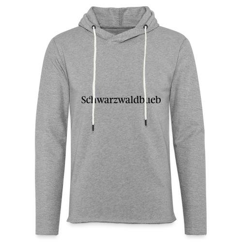 Schwarwaödbueb - T-Shirt - Leichtes Kapuzensweatshirt Unisex