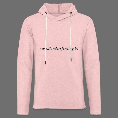 wwww.flandersfencing.be - Lichte hoodie unisex