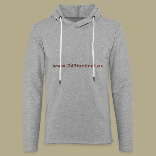 .243 Tactical Website - Lichte hoodie unisex