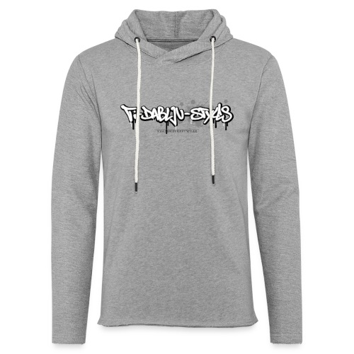 ti-dablju-styles_Logo - Leichtes Kapuzensweatshirt Unisex