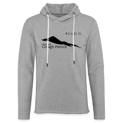 Croagh Patrick (Altitude) - Light Unisex Sweatshirt Hoodie
