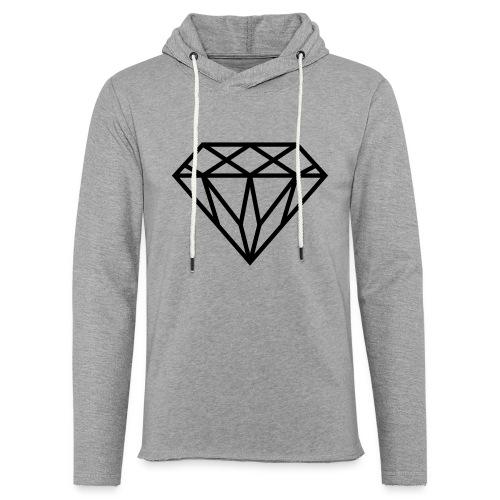 Diamond Graphic // Diamant Grafik - Leichtes Kapuzensweatshirt Unisex