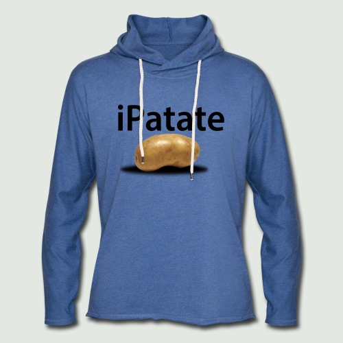 iPatate - Sweat-shirt à capuche léger unisexe