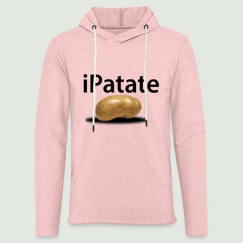 iPatate - Sweat-shirt à capuche léger unisexe