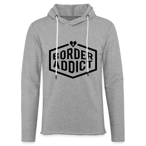 Border Addict - Sweat-shirt à capuche léger unisexe