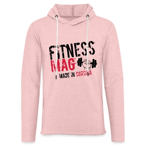 Fitness Mag made in corsica 100% Polyester - Sweat-shirt à capuche léger unisexe
