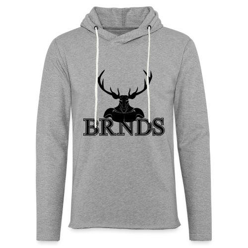 BRNDS - Felpa con cappuccio leggera unisex