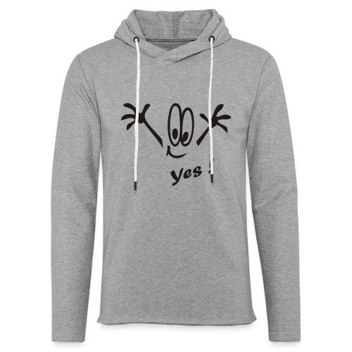 Yes ! Comic - Leichtes Kapuzensweatshirt Unisex