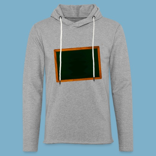 Schul Tafel - Leichtes Kapuzensweatshirt Unisex