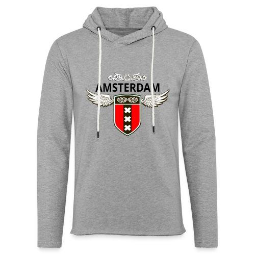 Amsterdam Netherlands - Leichtes Kapuzensweatshirt Unisex
