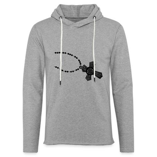 kruis 2 png - Lichte hoodie unisex