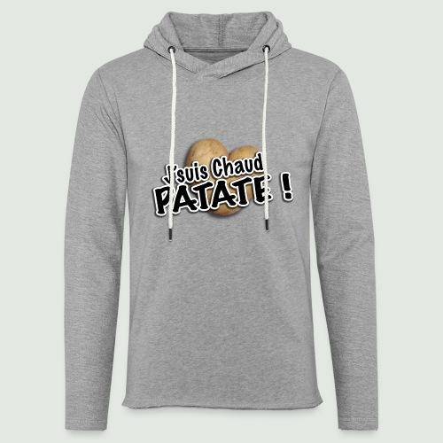 chaud patate - Sweat-shirt à capuche léger unisexe