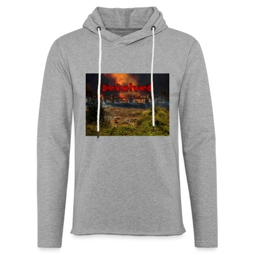 The Devolved Long TS1 - Light Unisex Sweatshirt Hoodie