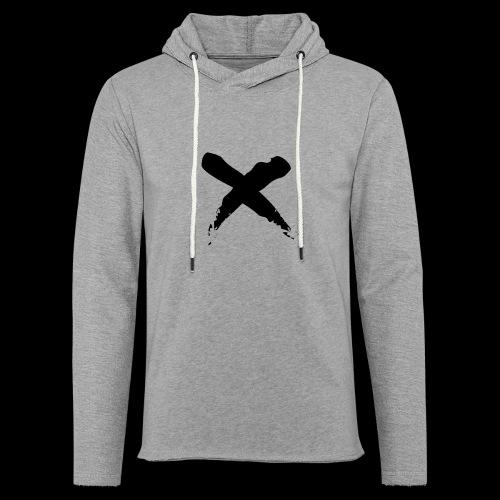 x - Felpa con cappuccio leggera unisex