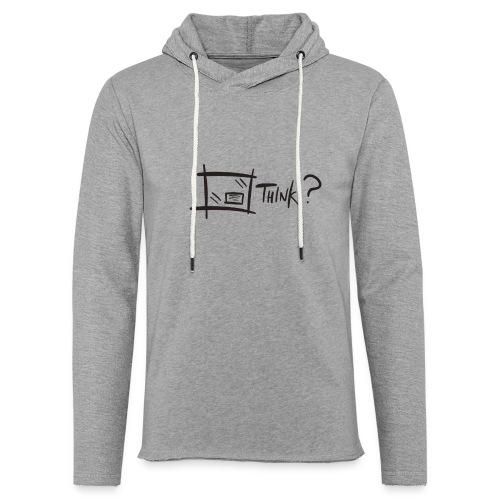 Think Outside The Box - Light Unisex Sweatshirt Hoodie