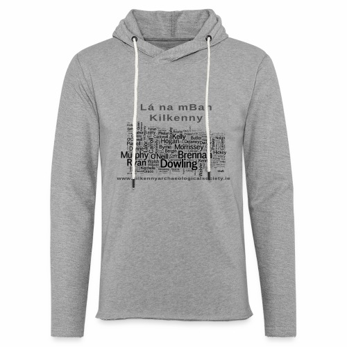 Lá na mBan black - Light Unisex Sweatshirt Hoodie