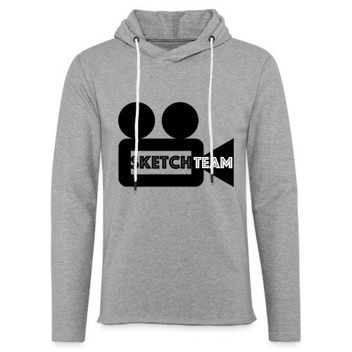 SketchTeam Logga T-shirt - Lätt luvtröja unisex