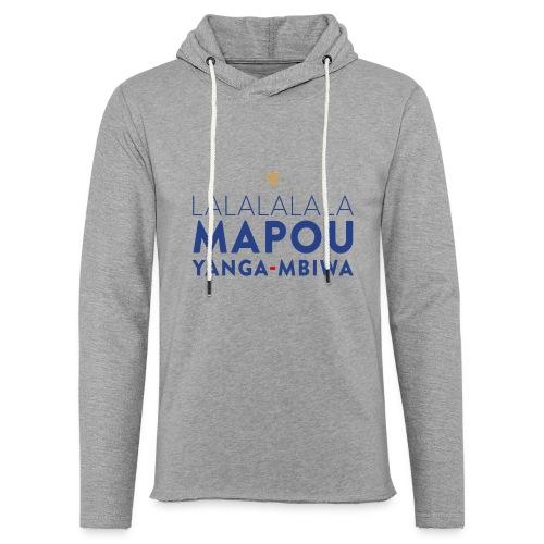 Mapou YANGA-MBIWA - Sweat-shirt à capuche léger unisexe