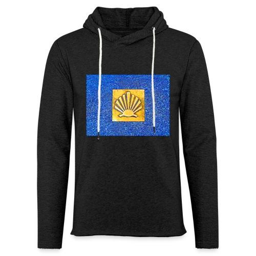 Scallop Shell Camino de Santiago - Light Unisex Sweatshirt Hoodie