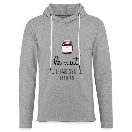 Le Nut' - Sweat-shirt à capuche léger unisexe