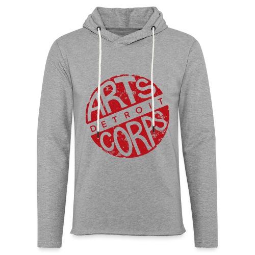 Art Corps Detroit - Sweat-shirt à capuche léger unisexe
