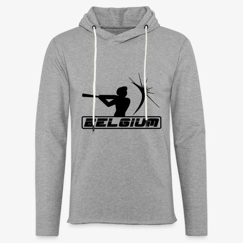 Belgium 2 - Sweat-shirt à capuche léger unisexe