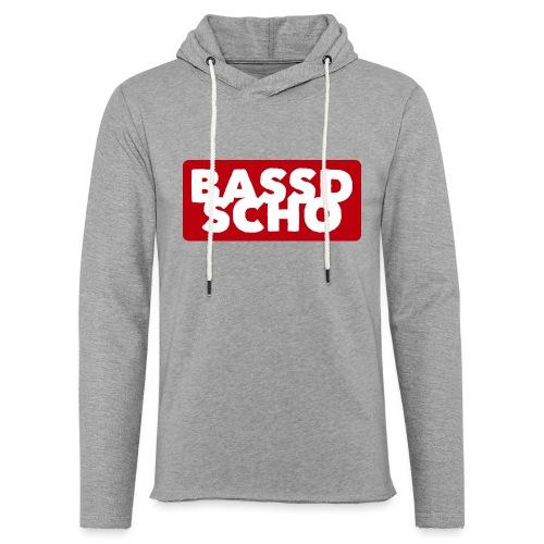 BASSD SCHO - Leichtes Kapuzensweatshirt Unisex