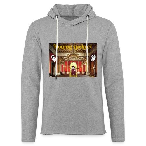 Koning Spekvet - Lichte hoodie unisex